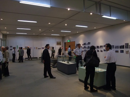 image: An exhibition in 2011