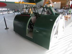 紫電改操縦席模型紫電改操縦席模型1
